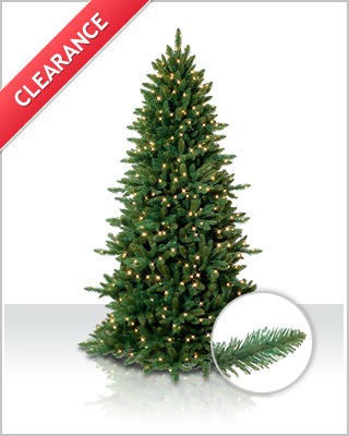 Sierra Slim Spruce Artificial Christmas Tree