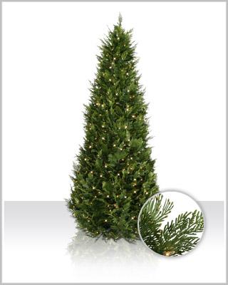 Artificial Cedar Christmas Trees