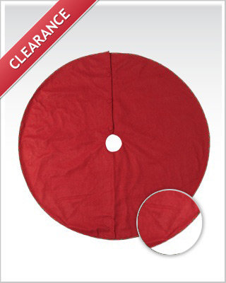 Christmas Red Tree Skirt