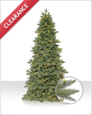 Columbia Valley Slim Fir Christmas Tree