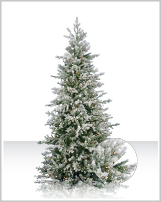 frosted dunhill artificial christmas tree - Discount Christmas Trees