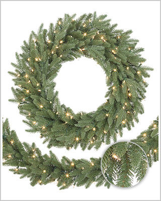 Kennedy Fir Wreaths and Garlands