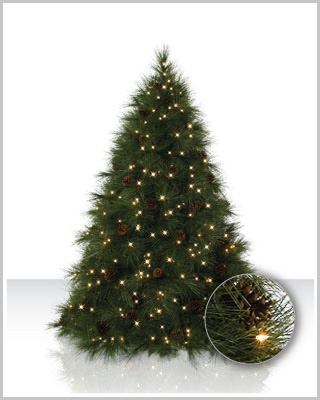 Ponderosa Needle Pine Artificial Christmas Tree