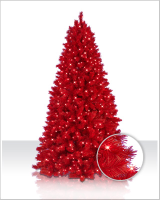 Ashley Red Christmas Tree