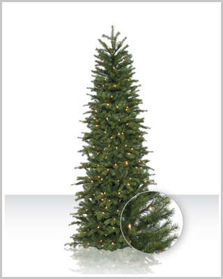 Redwood Slim Artificial Christmas Tree