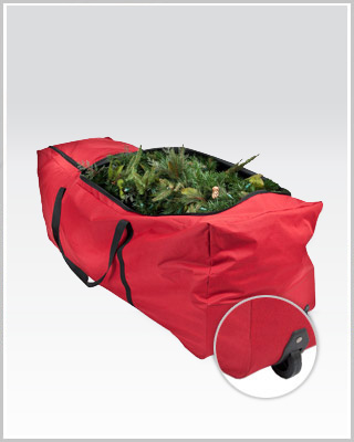 Santa's Heavy Duty Rolling Storage Bag