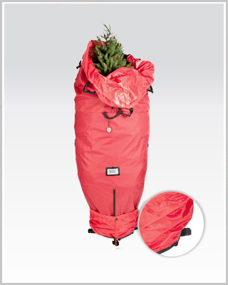 Santa's Upright Tree Storage Bag