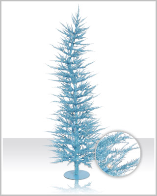 Sky Blue Laser Christmas Tree