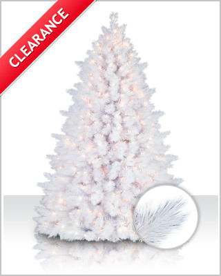 white pine artificial christmas tree - Clearance Christmas Trees