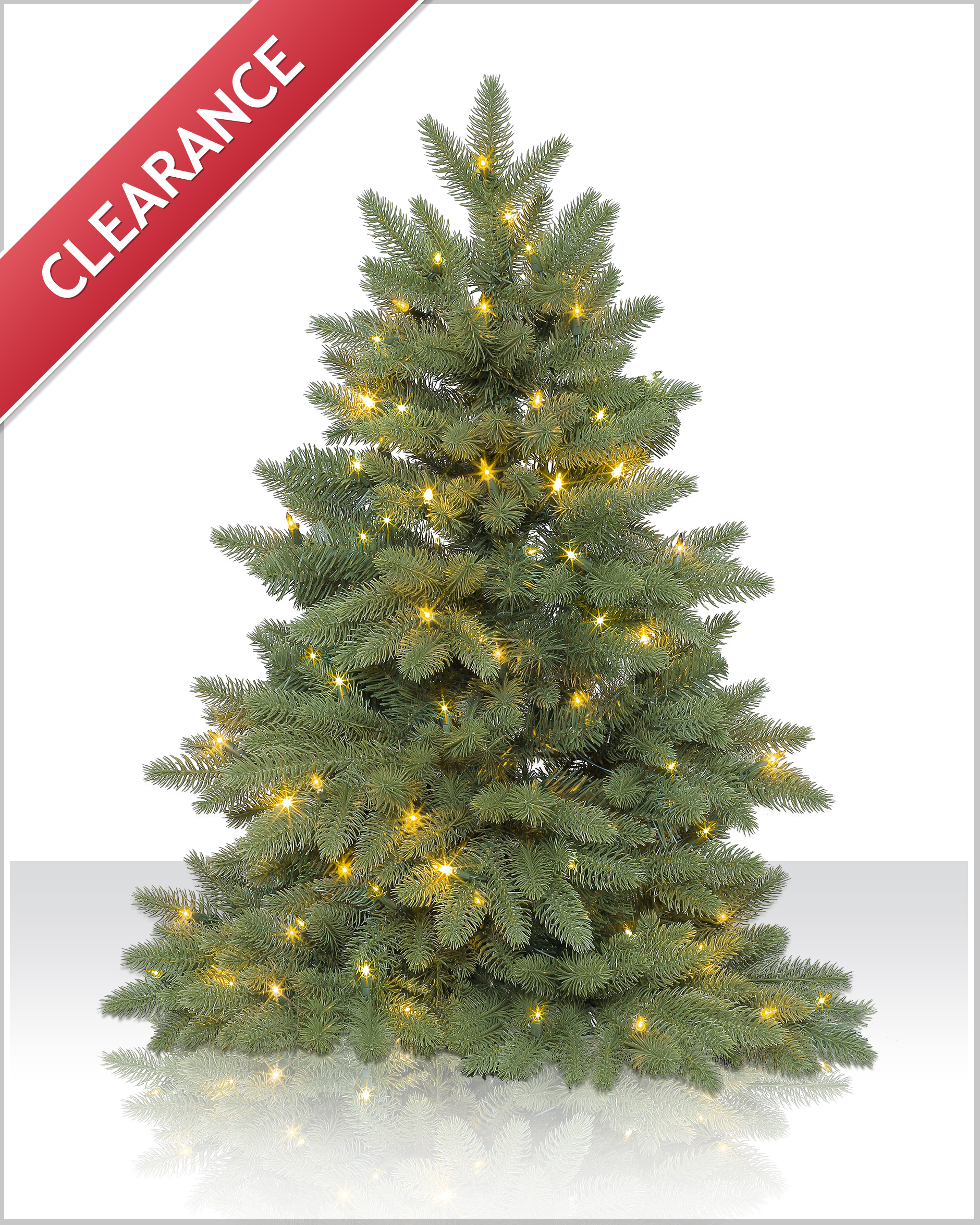 3 Ft Columbia Valley Slim Fir Tree | Christmas Tree Market