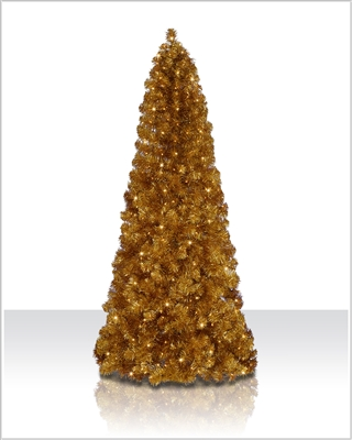 6 ft Golden Glow Prelit Christmas Tree