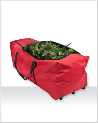 Santa's Heavy Duty Rolling Christmas Tree Bag
