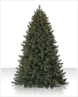 1000 clear lights - 12 Foot Christmas Trees