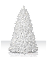 white christmas tree clear lights 700 clear lights - Cheap White Christmas Trees