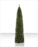 Slim & Pencil Artificial Christmas Trees | Christmas Tree Market