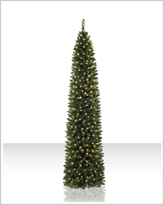6 Foot Ticonderoga Pencil Clear Christmas Tree