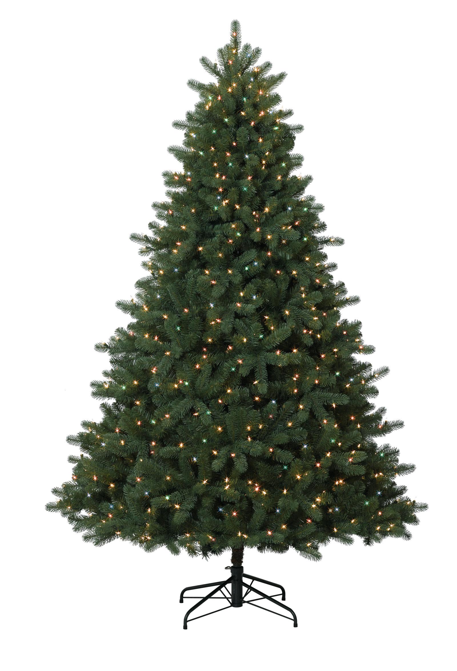 9 foot douglas fir christmas tree with multi lights - 9 Foot Christmas Tree