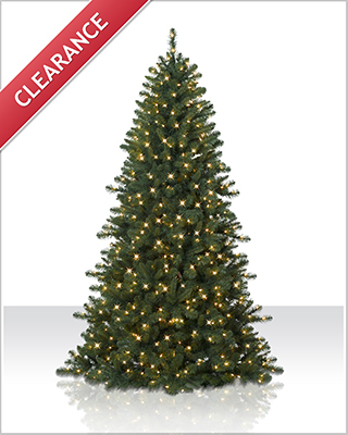 6 Foot Pre lit  Fraser Fir Artificial Christmas Tree