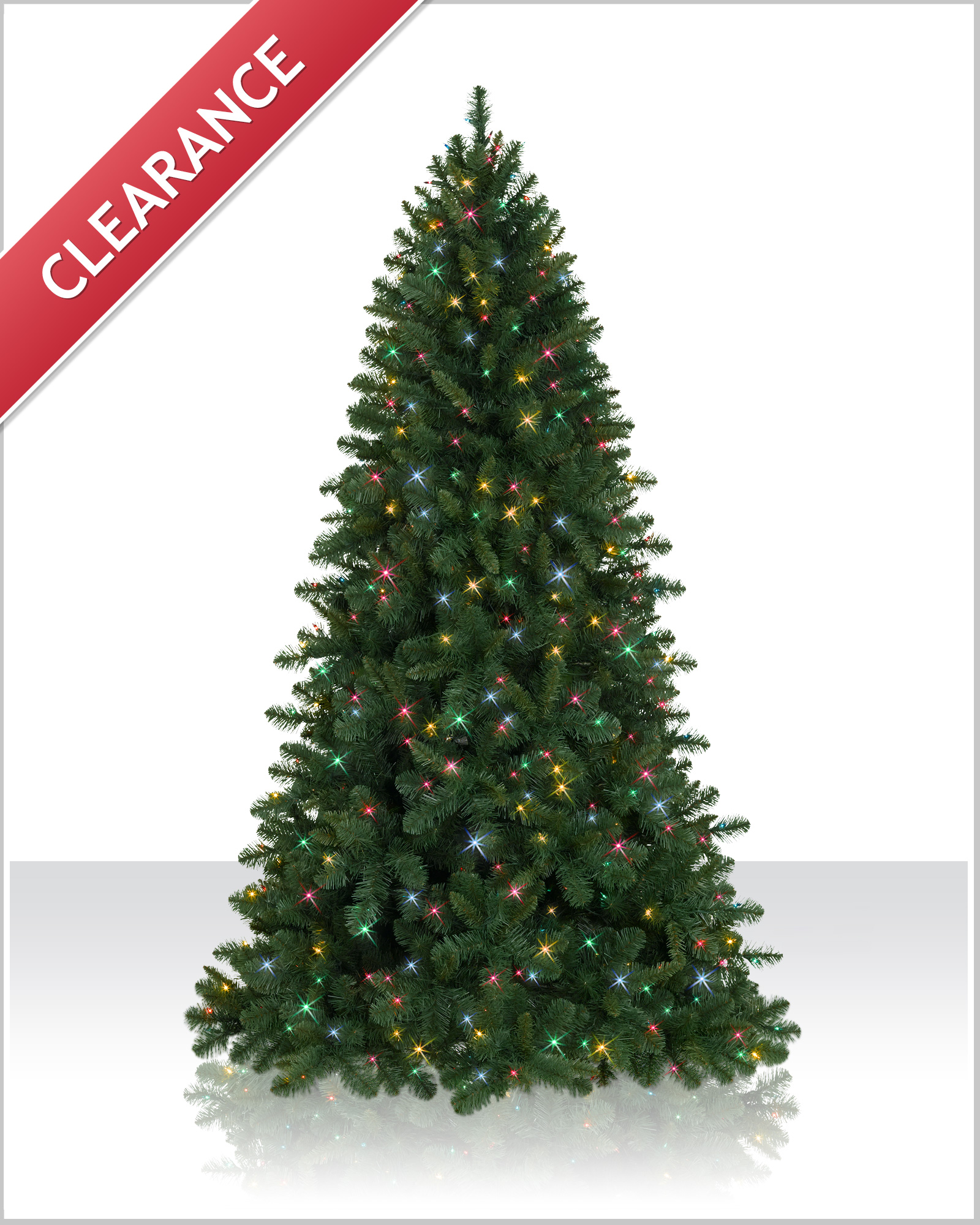 6 foot fraser fir pre lit artificial christmas tree - Faux Christmas Trees