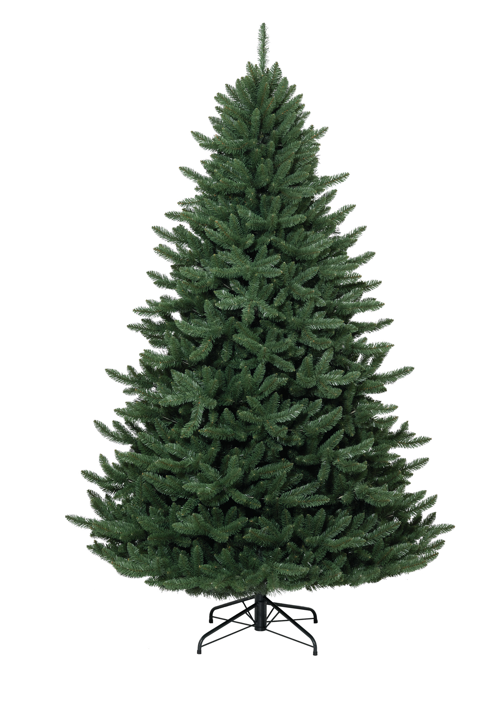 Superior Christmas Tree Without Lights Part - 2: 5.5 Foot Unlit Eastern Spruce Artificial Christmas Tree