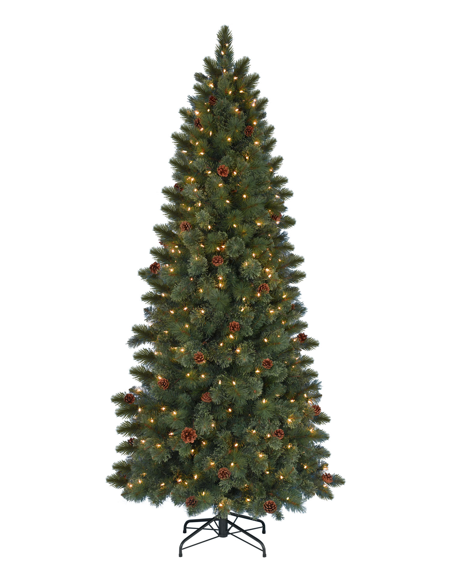7 foot cashmere clear artificial christmas tree - 2 Foot Christmas Tree