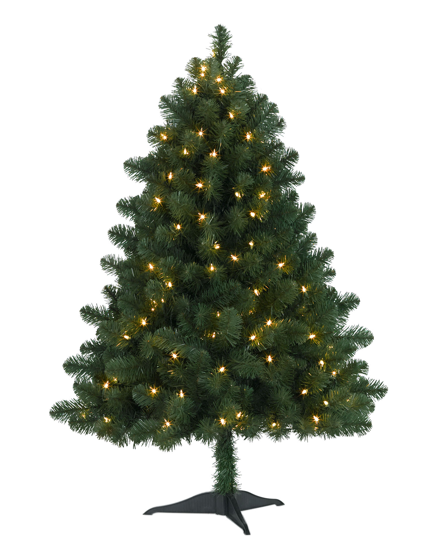 4 foot bethlehem fir clear christmas tree - 4 Foot White Christmas Tree