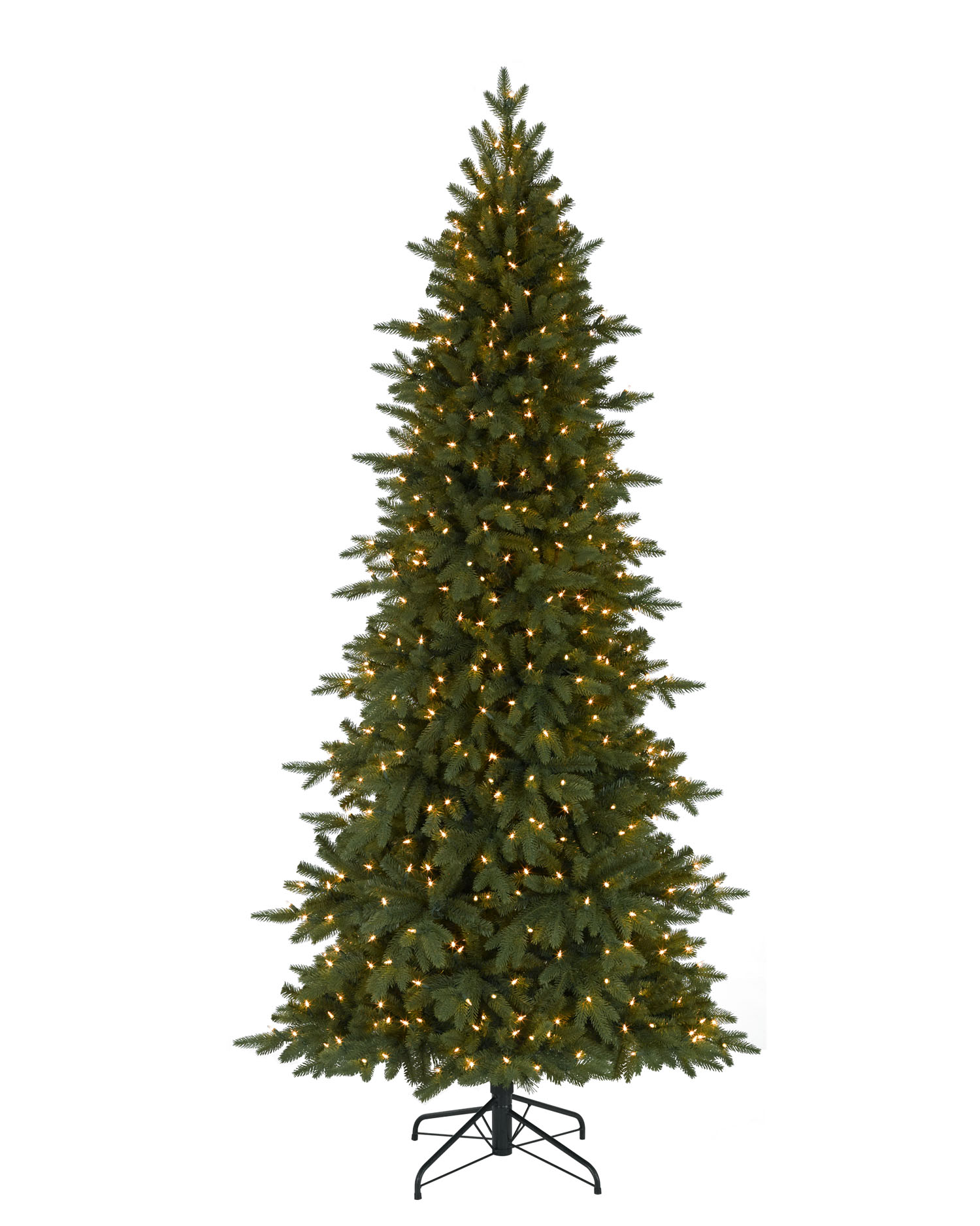 Small artificial christmas trees with led lights - 9 Foot Pre Lit Kennedy Fir Artificial Christmas Tree
