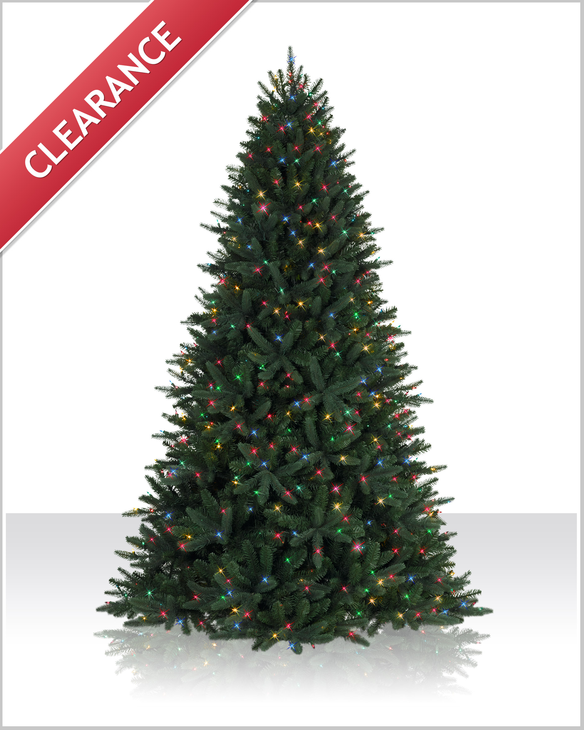 9 ft Sophia Springs Spruce Multi Lit Tree | Christmas Tree Market