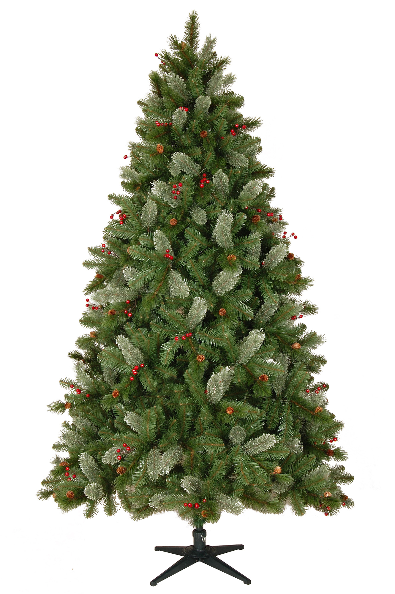 75 foot pre lit asheville pine artificial christmas tree - Pre Lit Christmas Tree