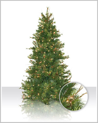 Slim Mixed Country Pine Tree