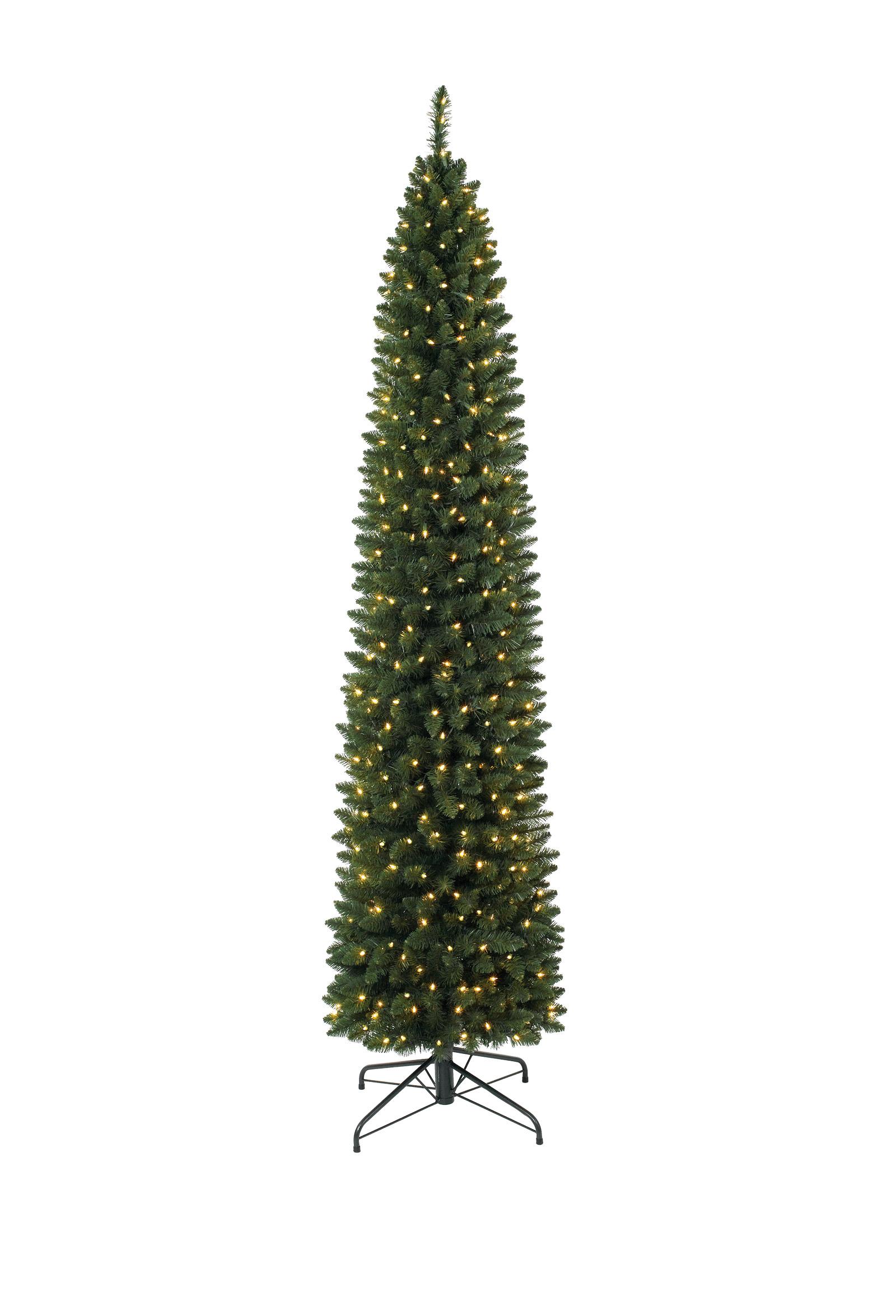 9 Ft Pre Lit Ticonderoga Pencil Christmas Tree Christmas